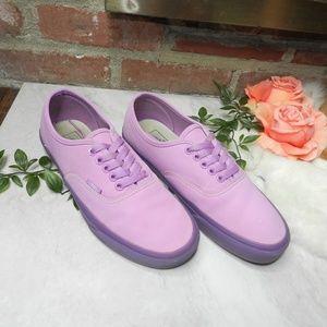 Vans purple (Translucent Gum) Violet Women's 8.5